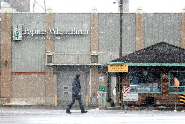 Le cas de Papiers White Birch illustre bien,... (Photothèque Le Soleil, Erick Labbé)