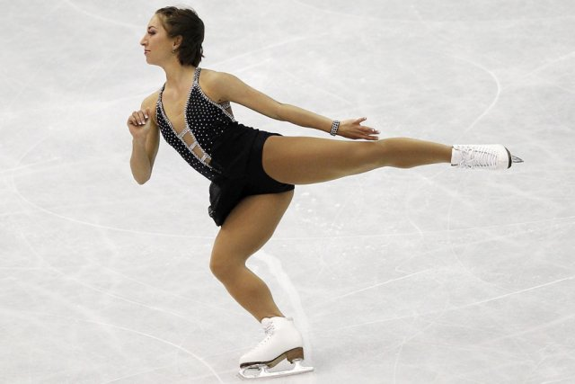 Amélie Lacoste... (Photo: Reuters)