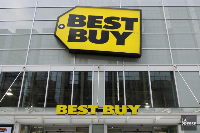 Best Buy (BBY) a réalisé des profits plus importants que prévu... (Photo archives Reuters)