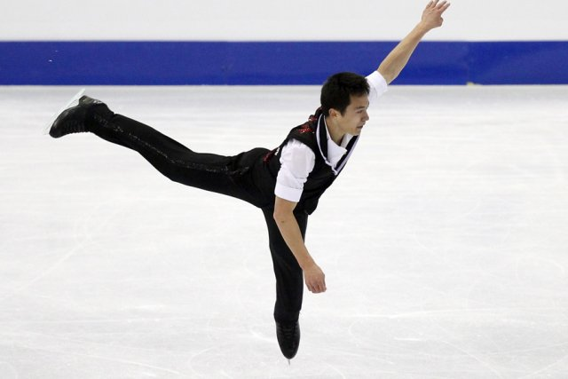 Patrick Chan a amassé 89,41 points sur sa... (Photo: AFP)