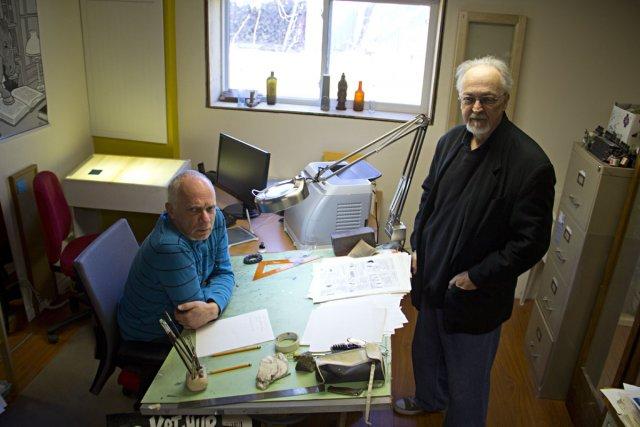 Réal Godbout et Pierre Fournier... (Photo: François Roy, La Presse)