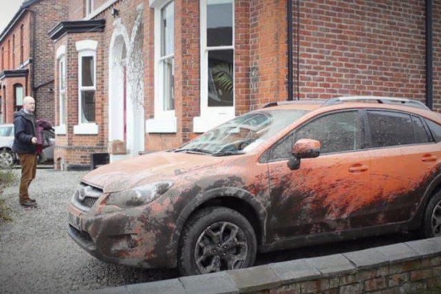 La filiale britannique de Subaru a mis en ligne dès aujourd'hui une  vidéo... (Image YouTube)