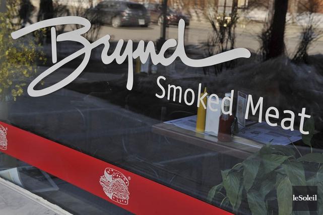 L'un des trois restaurants Brynd Smoked Meat qui avait fermé ses portes après... (Photothèque Le Soleil)