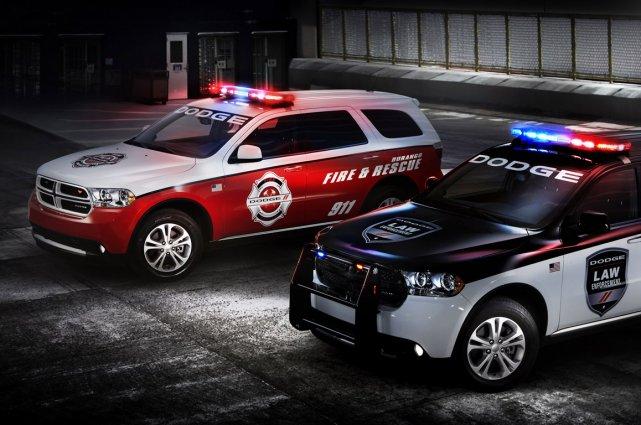 Le Dodge Durango Special Service.... (Photo fournie par Dodge)