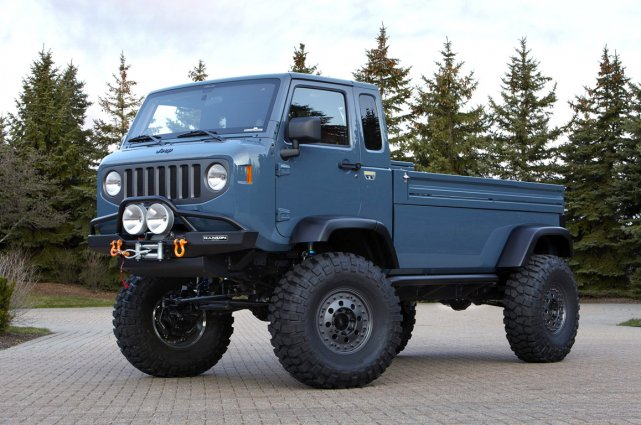 Le concept Jeep Mighty FC.... (Photo fournie par Jeep)
