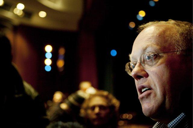 Le journaliste et professeur Chris Hedges, auteur de... (Photo: François Pesant, collaboration spéciale)
