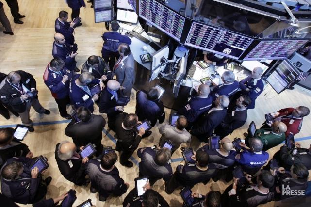 La Bourse de Toronto a clôturé lundi en baisse, les investisseurs ayant... (Photo: AP)