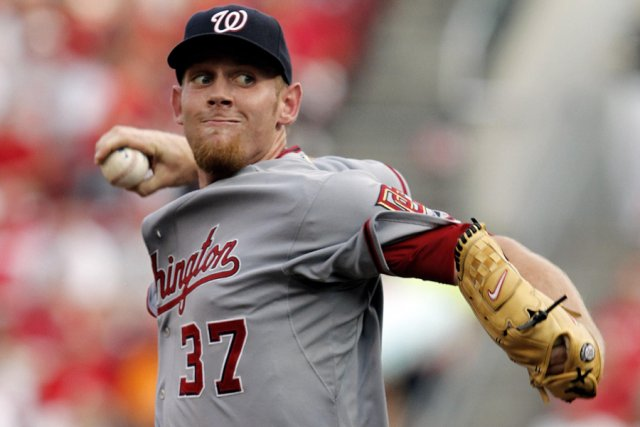 Stephen Strasburg... (Photo: Reuters)
