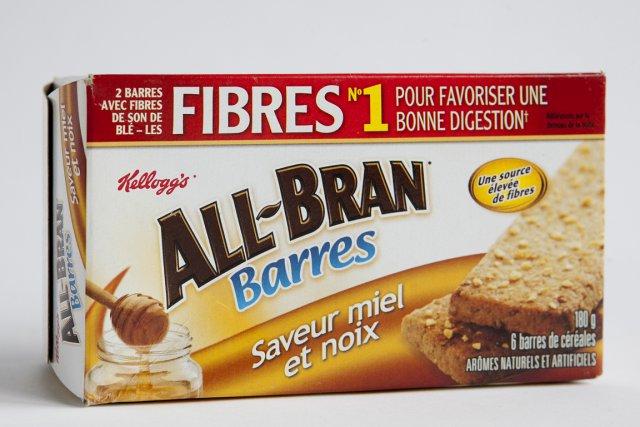 Grignoter des barres All-Bran tous les jours pour... (Photo Marco Campanozzi, La Presse)