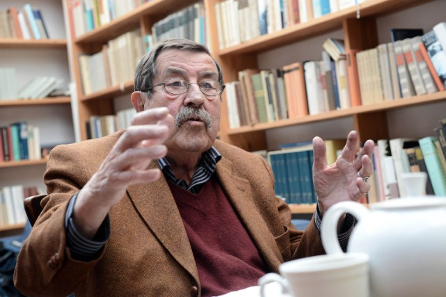 Günter Grass... (Photo: archives AFP)