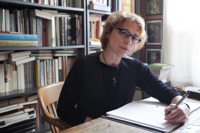 Pour les romans et nouvelles, c'est Andrée A.... (Photo Marco Campanozzi, archives La Presse)