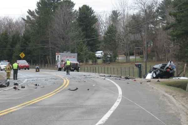 Un homme a perdu la vie mardi matin dans un accident sur la route 148 à... (Jessy Laflamme, LeDroit)
