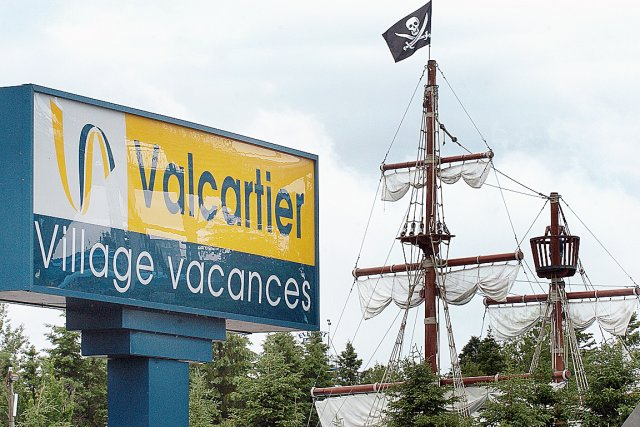 Au Village Vacances Valcartier, l'heure n'est pas encore... (Photothèque Le Soleil)