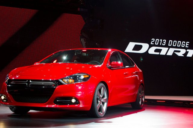 Dodge Dart... (Photo AP)