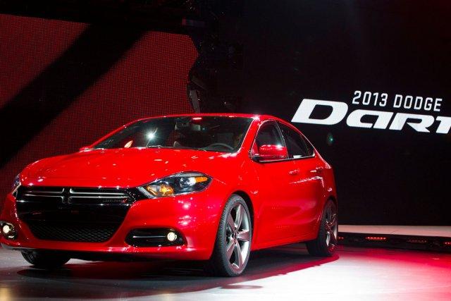 Dodge Dart... (Photo AP)