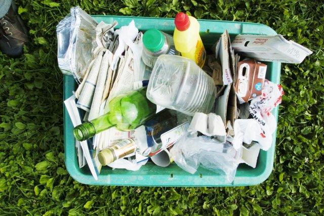 Le verre est la matière recyclée qui se... (Photo: André Trembaly, Archives La Presse)