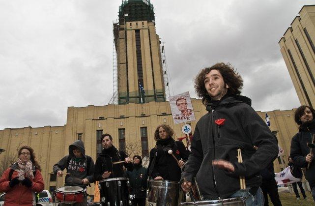 La direction de l'Université de Montréal avait d'abord... (Photo archives La Presse)
