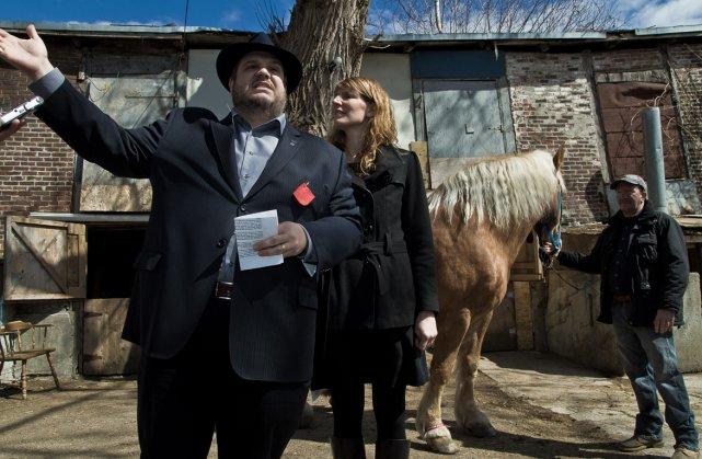 Le maire de l'arrondissement du Sud-Ouest, Benoit Dorais,... (Photo Valérian Mazataud, collaboration spéciale)