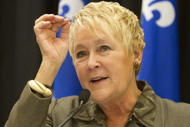 La chef du PQ, Pauline Marois, a indiqué... (Photo : Robert Skinner, La Presse)