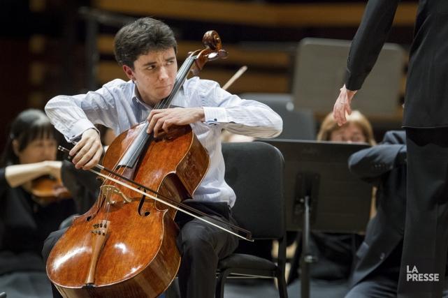 Le violoncelliste Stéphane Tétreault sera le soliste du... (Photo: Édouard Plante-Fréchette, archives La Presse)