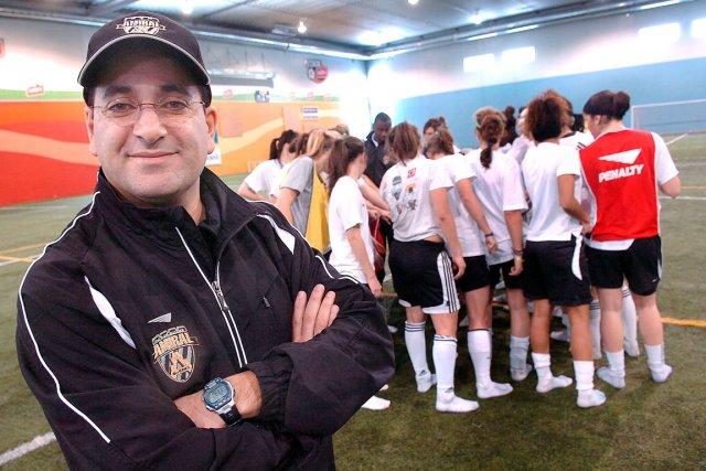 L'entraîneur de l'Amiral, Samir Ghrib, pourra compter sur... (Photothèque Le Soleil, Jean-Marie Villeneuve)