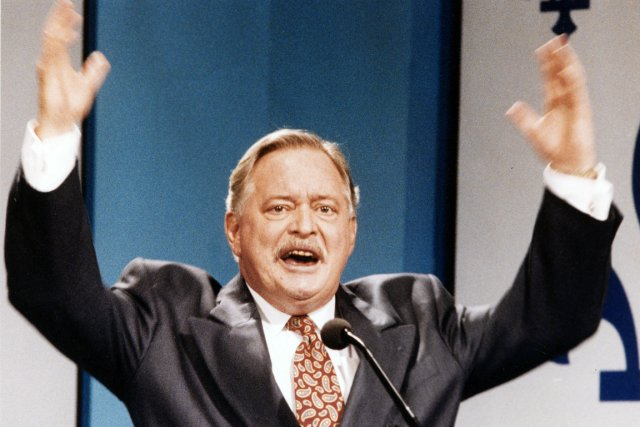 Jacques Parizeau en 1995.... (Photo : archives La Presse)