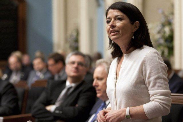 La ministre de l'Éducation, Line Beauchamp.... (Photo: PC)