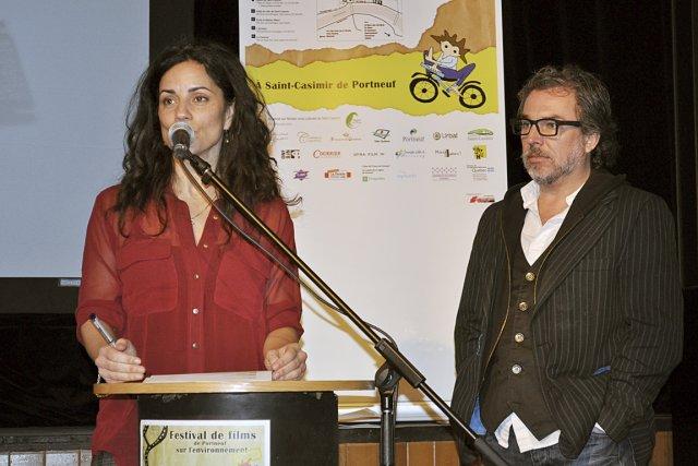 Geneviève Bilodeau et Christian Bégin sont marraine et... (Johanne Martin, collaboration spéciale)