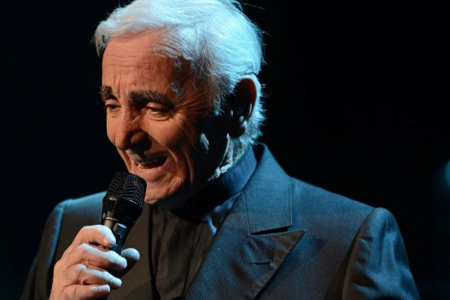 Charles Aznavour... (Le Soleil, Patrice Laroche)