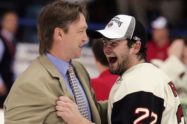 Patrick Roy et Alexander Radulov ont remporté ensemble... (Photo archives Reuters)