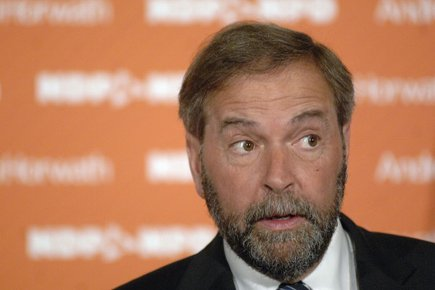 Thomas Mulcair... (Photo: PC)