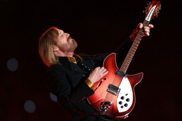 Tom Petty... (Photo AFP)