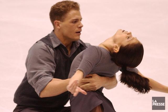 David Pelletier et Jamie Salé aux Jeux olympiques... (Photo Bernard Brault, archives La Presse)
