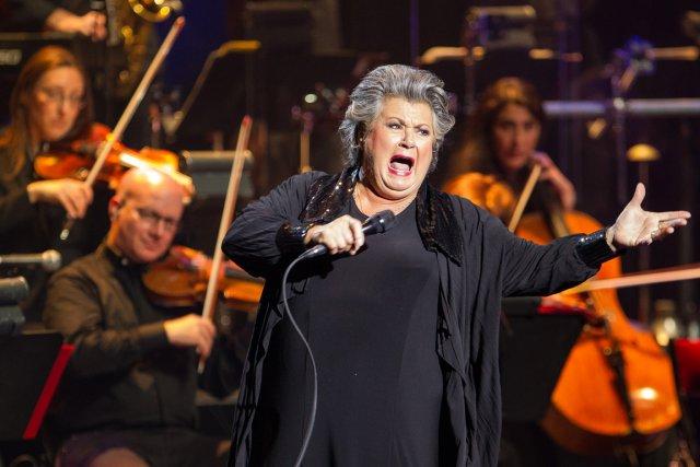 Ginette Reno est en spectacle au Théâtre St-Denis... (Photo : Edouard Plante-Fréchette, La Presse)