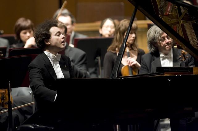 Le pianiste russe Evgueny Kissin: Montréal jeudi, Québec... (Photo: André Pichette, archives La Presse)