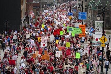 Pour la Fédération étudiante collégiale du Québec, le... (Photo: Marco Campanozzi, La Presse)
