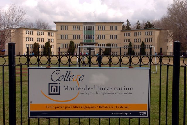 La direction du Collège Marie-de-l'Incarnation rencontrera les parents,... (Photo: François Gervais)