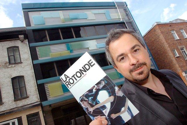Steve Huot, directeur général et artistique de La... (Le Soleil, Jean-Marie Villeneuve)