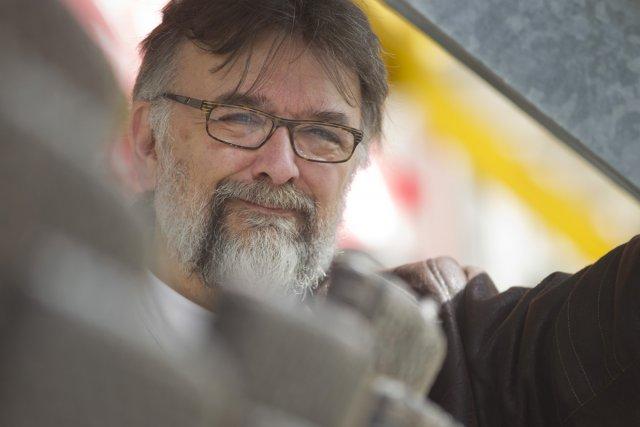L'essayiste Pierre Monette illustre entre autres dans Onon:ta'... (Photo: Ivanoh Demers, La Presse)