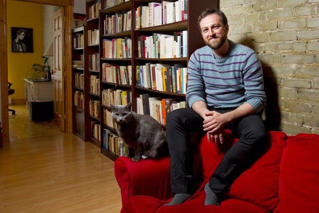 Pour écrire sur Saint-Henri, Daniel Grenier s'est inspiré... (Photo: Alain Roberge, La Presse)