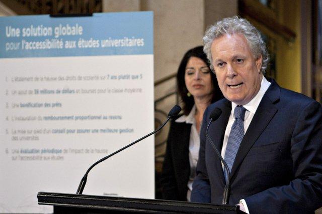 Le premier ministre Jean Charest a tenté de... (Photo: PC)