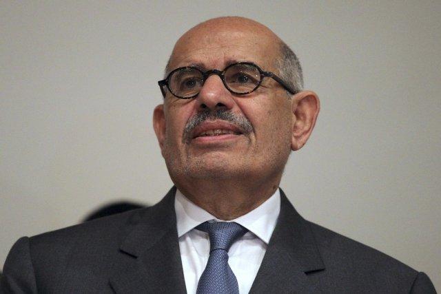 L'ancien chef de l'Agence internationale de l'énergie atomique... (Photo Mohamed Abd El Ghany, Reuters)