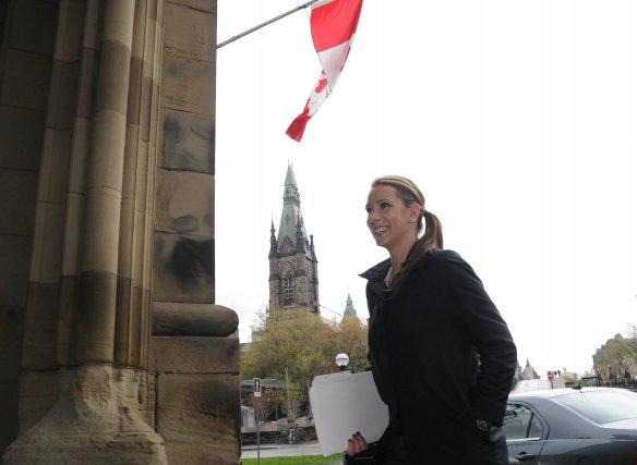 La députée de Berthier-Maskinongé à la Chambre des... (Photo: Sylvain Mayer)