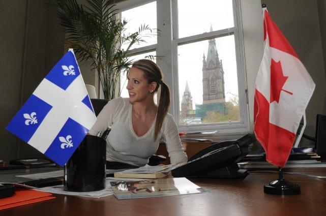 Ruth Ellen Brosseau vient d'hériter de nouvelles fonctions... (Photo: Sylvain Mayer)