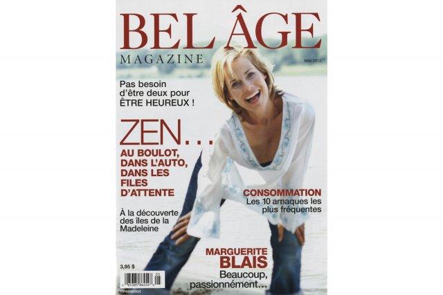 À quel âge fait-on partie du public cible du magazine Le bel âge? C'est la...