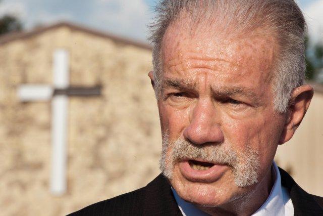 En mars 2011, l'assistant de Terry Jones avait... (Photo: Paul J. Richard, Archives AFP)
