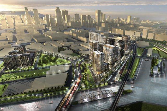La Ville de Montréal doit reprendre «d'urgence» le contrôle du  développement... (Illustration: Fournie par Devimco, archives)