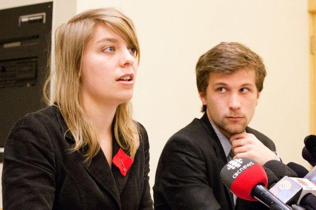 La Coalition large de l'Association pour une solidarité syndicale étudiante... (Photothèque Le Soleil)