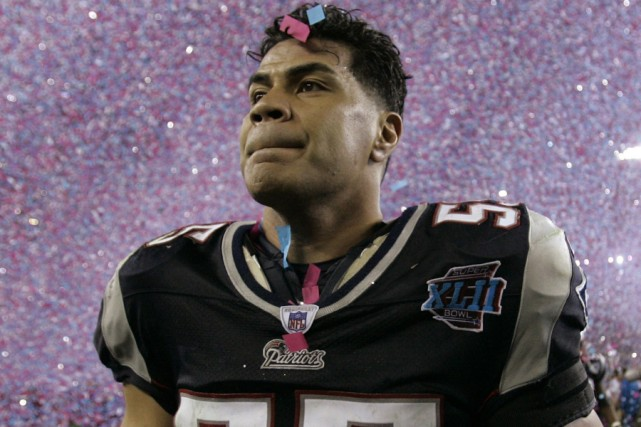L'ancien secondeur étoile de la NFL Junior Seau... (Photo archives AP)