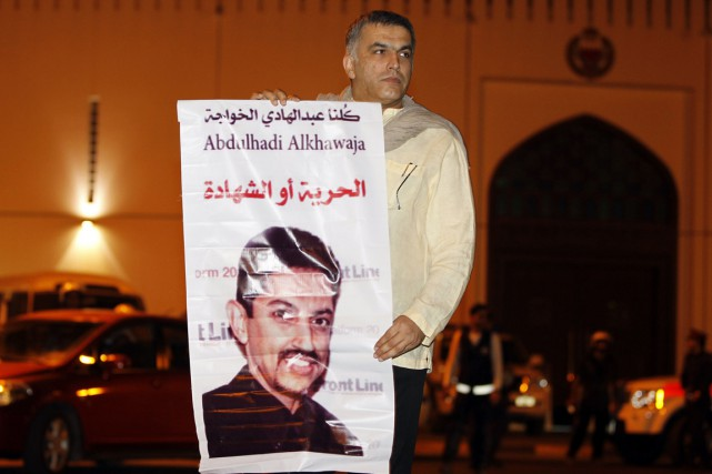 Nabil Rajab... (Photo : Hamad I Mohammed, Archives Reuters)